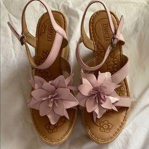 Born Pink Flowers Sandals 10